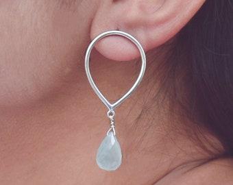 18k Gold Filled Earrings AAA Semiprecious Gemstone Earrings Pink Chalcedony Earrings Dangle Drop Earrings Delicate Handmade Earrings