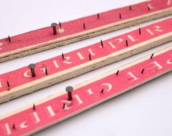 39 In\1 Yard\100cm Carpet Strip for Frame \ Handmake Gripper Gripper for Rug Hooking +Gifts( 2 saw blades )