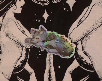 Animals Holographic Stickers