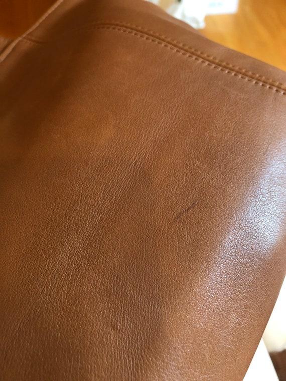90s Vintage Coach Waverly British Tan tote bag 41… - image 9