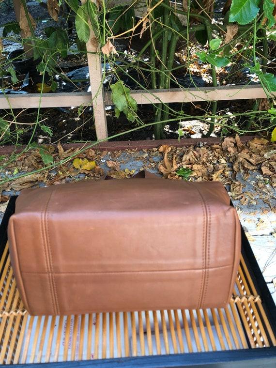 90s Vintage Coach Waverly British Tan tote bag 41… - image 4