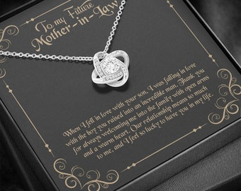 To my Mother-in-law, Gift for Mother-in-law, Mother-in-law Necklace, Mother-in-law Pendant, Mom-in-law Necklace, To My Future Mom-in-law