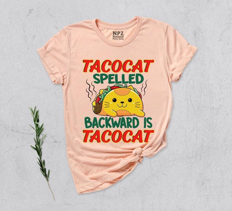 Tacocat Spelled Backward Is Tacocat Shirt Masswerks Store