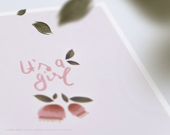 Greeting Card for Birth Girl