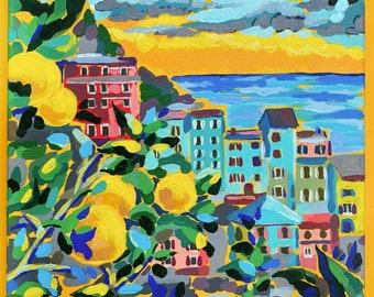 Landscape Painting | Original Acrylic Painting | Canvas | 30x40cm | Art