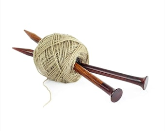 Yarn Storage /& Crocheting Accessories Double Point Rosewood Crafted Premium Knitting Needles Prime Decor