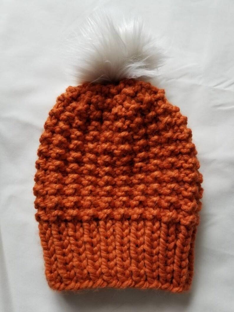 Warm Winter Hat--Daphne