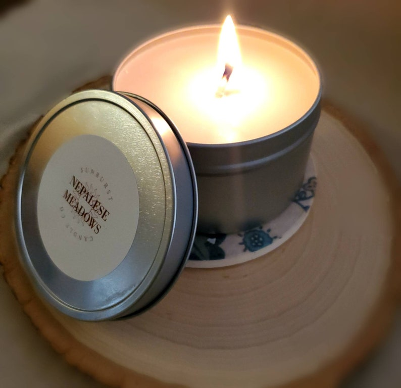 Nepalese Meadows 8 oz Soy Candle