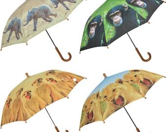 Children's African Animals Umbrella's