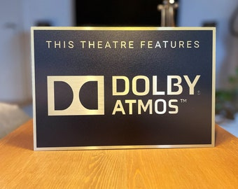 Dolby Atmos Home Theater Sign
