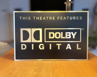 Dolby Digital Legacy Home Theater Sign