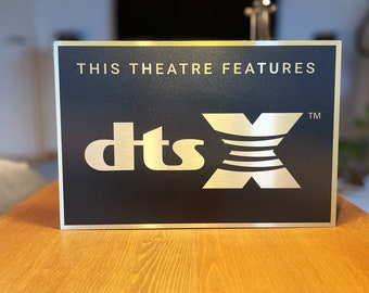 DTS X Home Theater Sign
