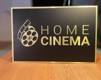 Home Cinema / Home Theater Sign