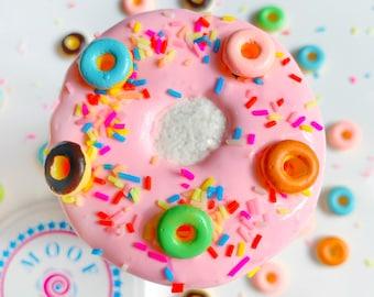 Fruity Pebbles Donut DIY Kit // Borax-Free Fruity Pebbles Scented DIY Kit