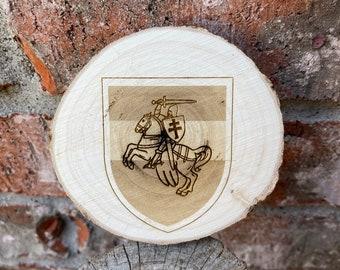 Minsk Belarus Engraved Wooden Plank Wall Decor Table Decor House Decor Wood Sign Wall Art