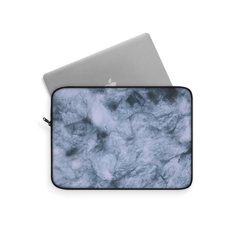 Marble Laptop Sleeve Custom Cute Laptop Case Bag 12 13 15 inch