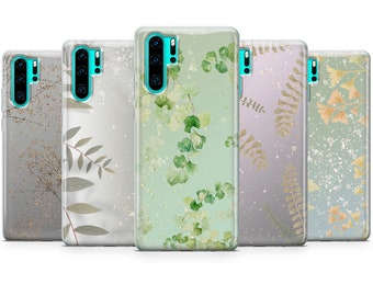 P40 D11 Mate 30 P30 Mate 20 Waves Phone Case Blue Gel Cover for Huawei P10 P20