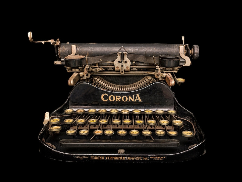 Fine art Photography of vintage objects this one is a Corona image 0