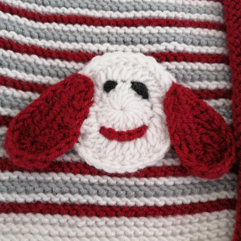 Baby Vest Handcrafted Knitted Baby Vest Sweater Red And White Baby Sweater Knitted Wool