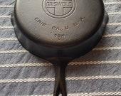 Beautifully Restored Griswold 8 Big Block Logo Cast Iron Skillet
