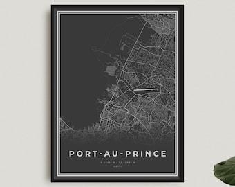 Print At Home Australia City Map Print Wall Art New South Wales Port Macquarie Digital Download File