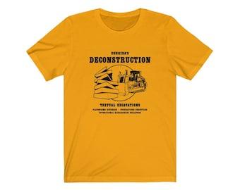 Derrida's Deconstruction Philosophy T-shirt