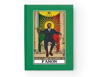 Fanon Justice Tarot Philosophy Journal Blank (Lined)