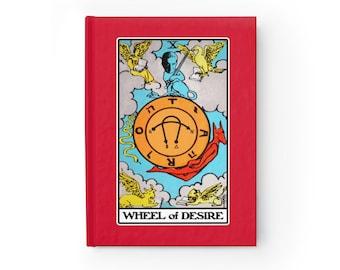 Lacan Wheel of Desire Tarot Philosophy Journal Blank (Lined)