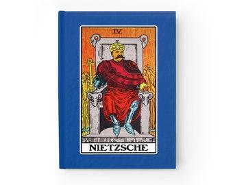 Nietzsche Emperor Tarot  Philosophy Journal (Lined)