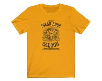 Bataille's Solar Anus Saloon Philosophy T-shirt