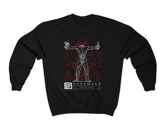 Acephale Dionysus (Bataille Masson Klossowski Nietzsche) Philosophy Sweatshirt