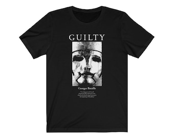 Georges Bataille Guilty Redux Philosophy T-shirt