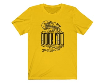 Animal Skull Amor Fati Philosophy T-shirt