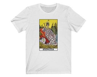Hypatia Empress Tarot Philosophy T-shirt