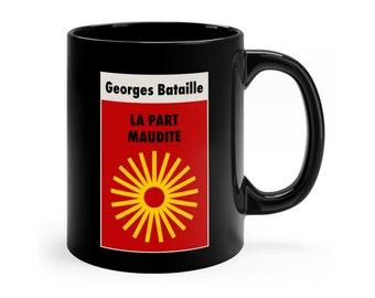 Georges Bataille (La Part Maudite) The Accursed Share Philosophy Mug