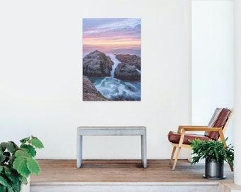 Bodega Head, California Sunset Seascape Landscape Photography Photo Print - Lustre or Glossy