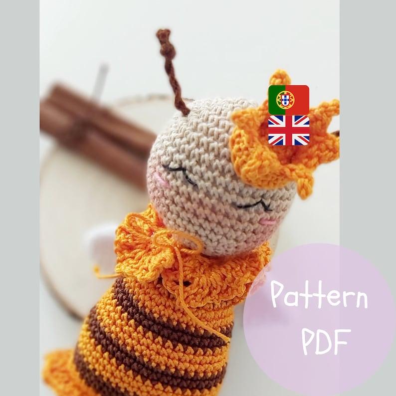 Crochet Bee Pattern Amigurumi  Standard Amigurumi Bee  image 0