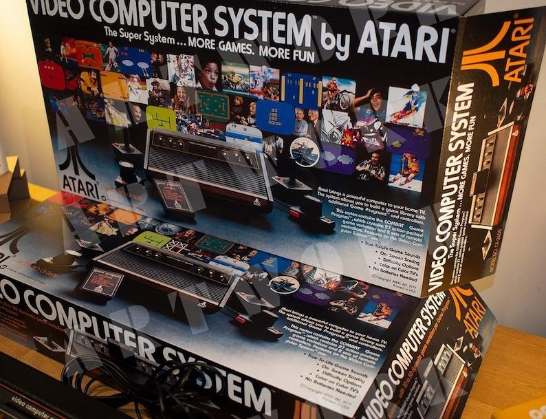 Atari 2600 VCS Empty Console Box  Box Only  NO Inserts image 0