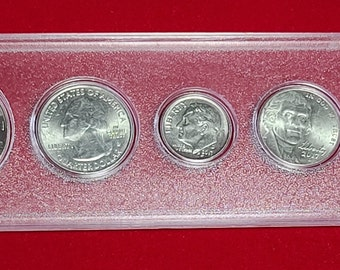 2017 Birth Year Set 5 Uncirculated Coins in Holder