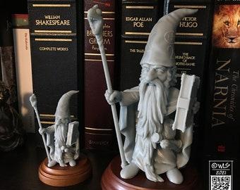 Guardin' Gnome, Wizard  [UNPAINTED]