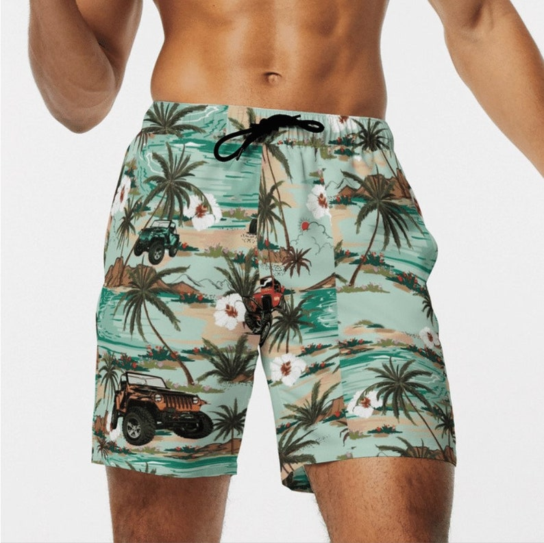 Jeep Tropical Pattern Hawaiian Shirt Jeep girl tee shirt Travel Gear Gift for him Gift for her Jeep girl Jeep Life