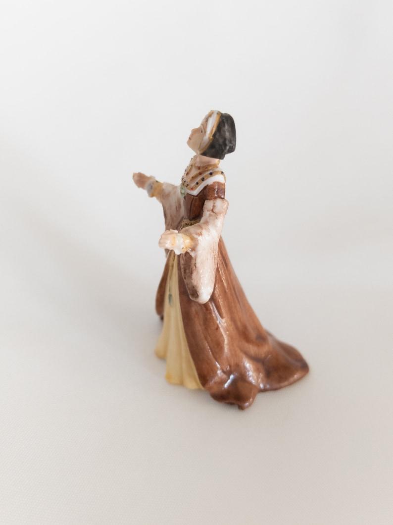 Franklin Mint Vintage 1983 Miniature Figurine Circa 1535 \u201cJane\u201d Ladies of Fashion