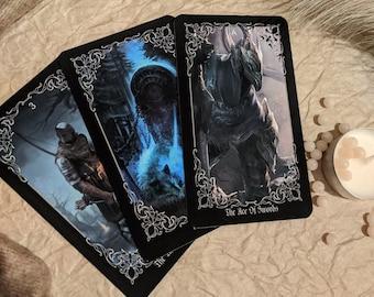 Dark Souls Arcana Tarot 78 Cards Full Deck Dark Souls Tarot Dark Souls Original Tarot Undead Journey Tarot Deck Dark Souls Tarot Artwork