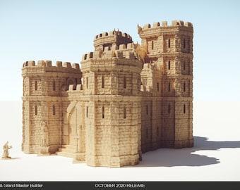 HUGE DnD/Pathfinder/Warhammer Castle Model