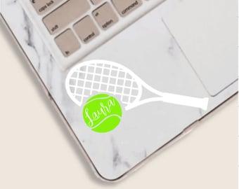 Tennis Player CarTruckHomeLaptopComputerPhone Decal