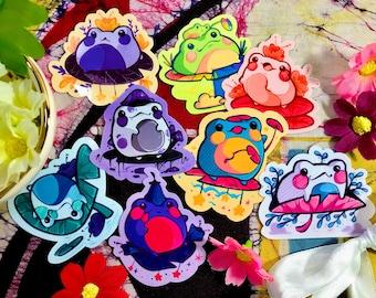 Frogs!! (LGBTQ+ Pride) Sticker