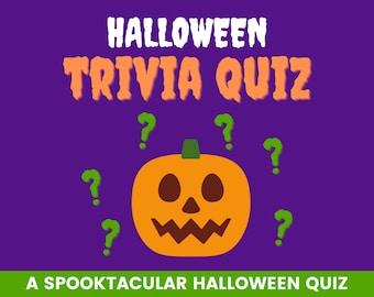 Halloween trivia   Spooktacular quiz   Icebreaker   Family fun