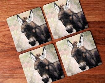 Donkey Coasters Etsy