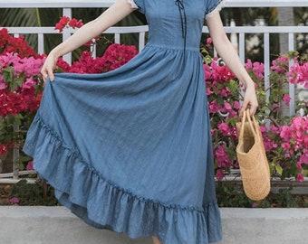 Cottage blue Dress