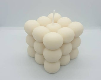 Bubble Candle   Soy Candle    Gift   Natural   Vegan   Decorative Candles   Handmade  